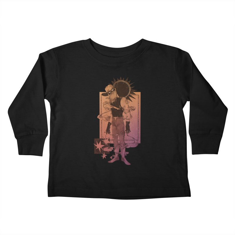 Fell in love with a rider Kids Toddler Longsleeve T-Shirt by Raining-Static Art