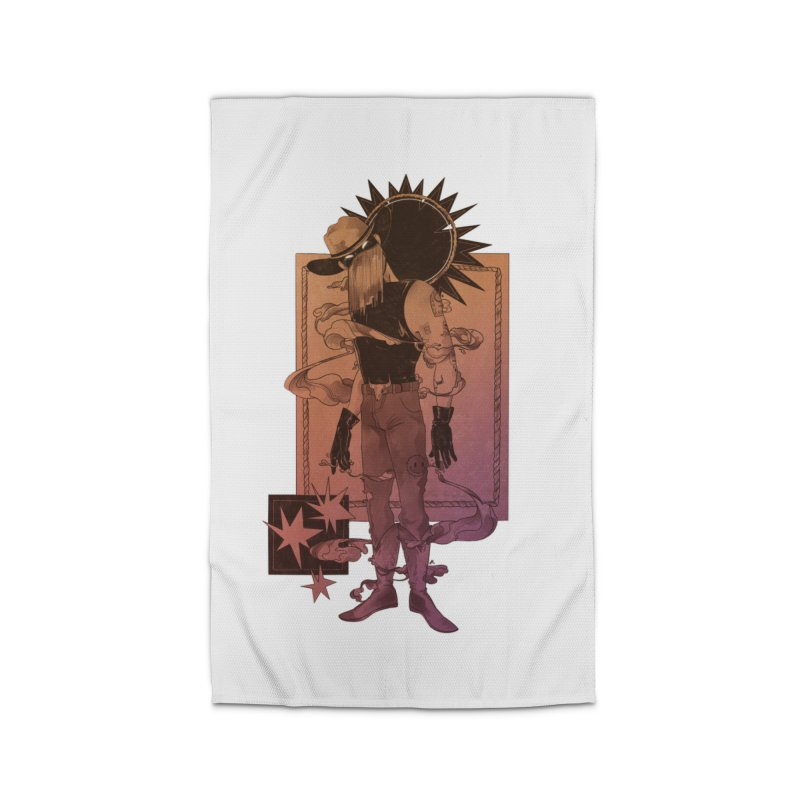 Fell in love with a rider Home Rug by Raining-Static Art