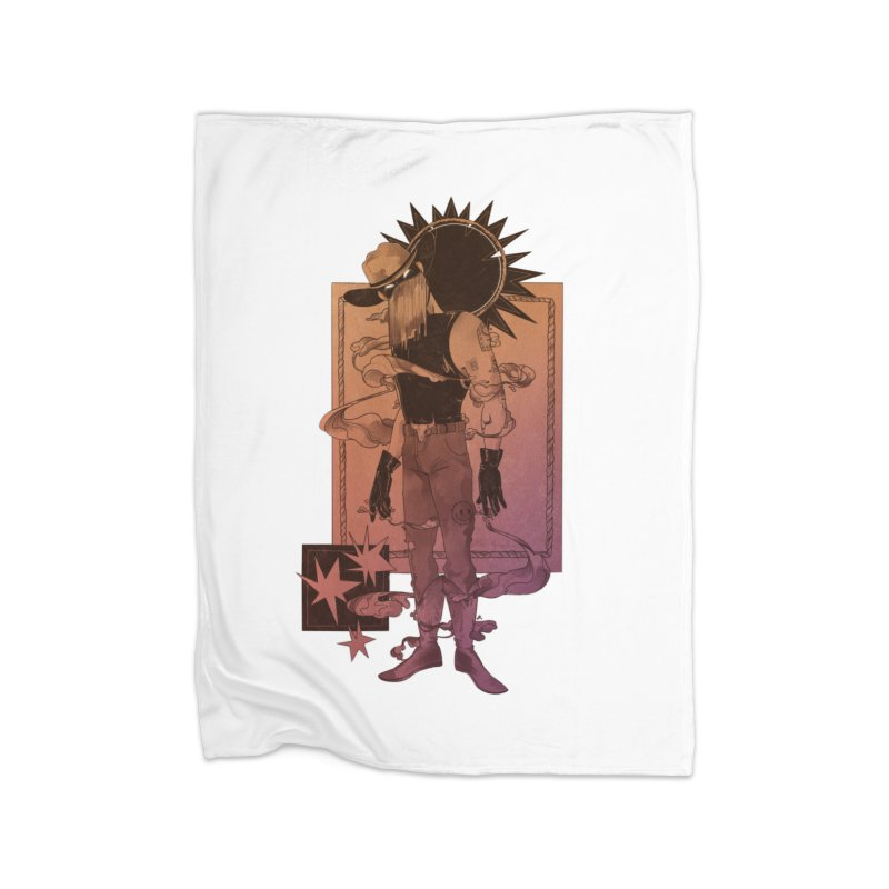 Fell in love with a rider Home Blanket by Raining-Static Art