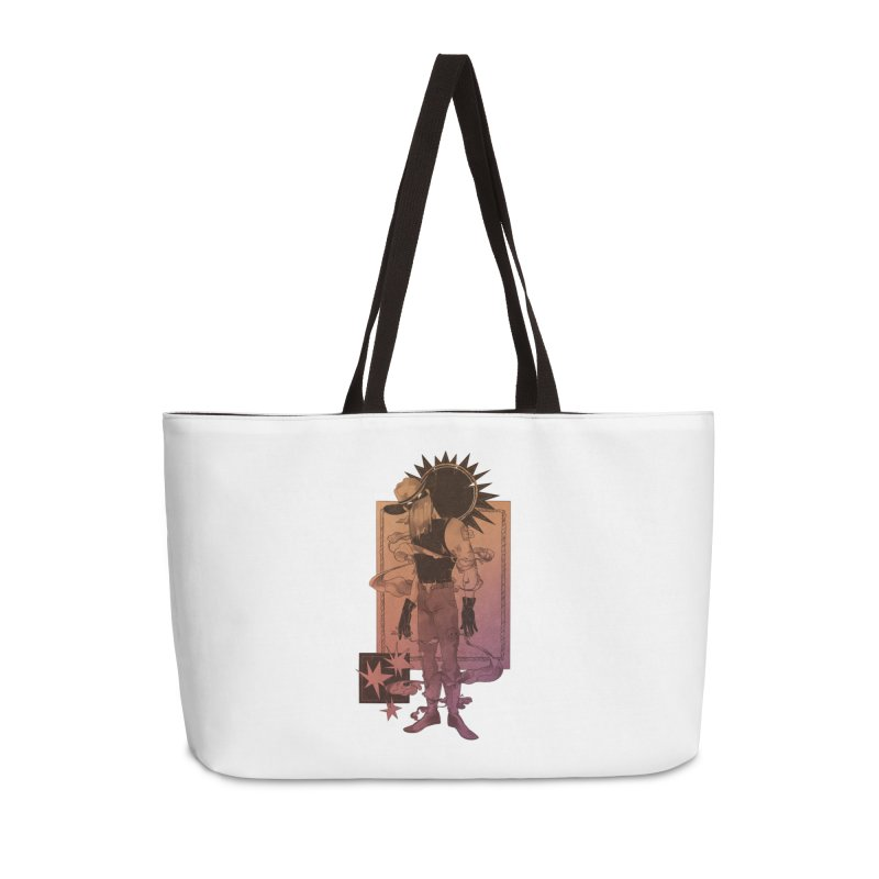 Fell in love with a rider Accessories Bag by Raining-Static Art