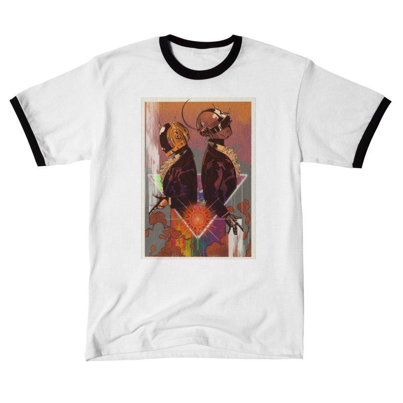 Daft Punk Men's T-Shirt by Raining-Static Art