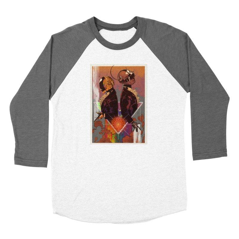 Daft Punk Women's Longsleeve T-Shirt by Raining-Static Art