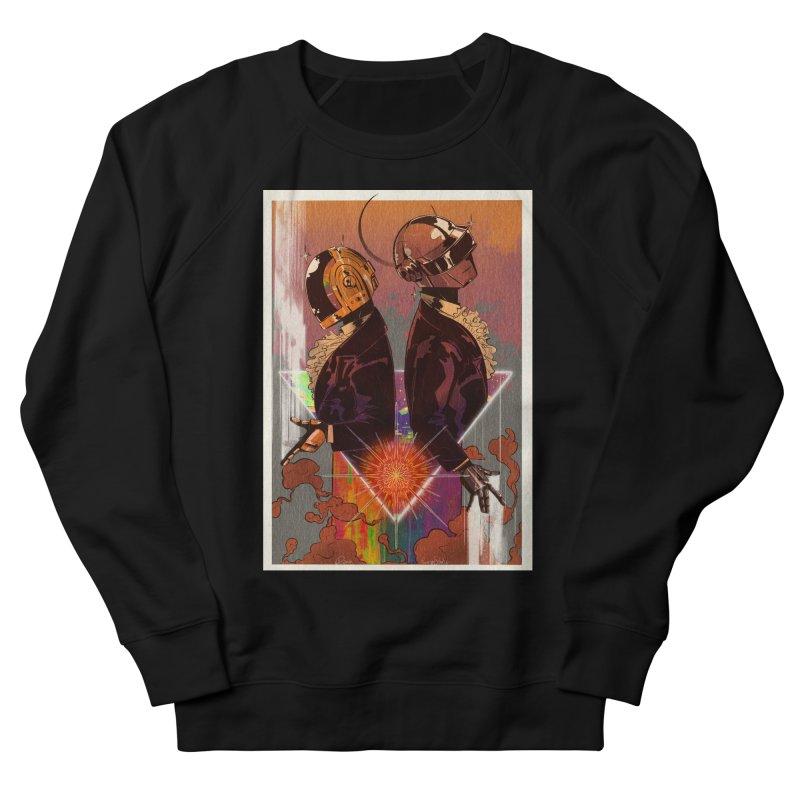 Daft Punk Women's Sweatshirt by Raining-Static Art