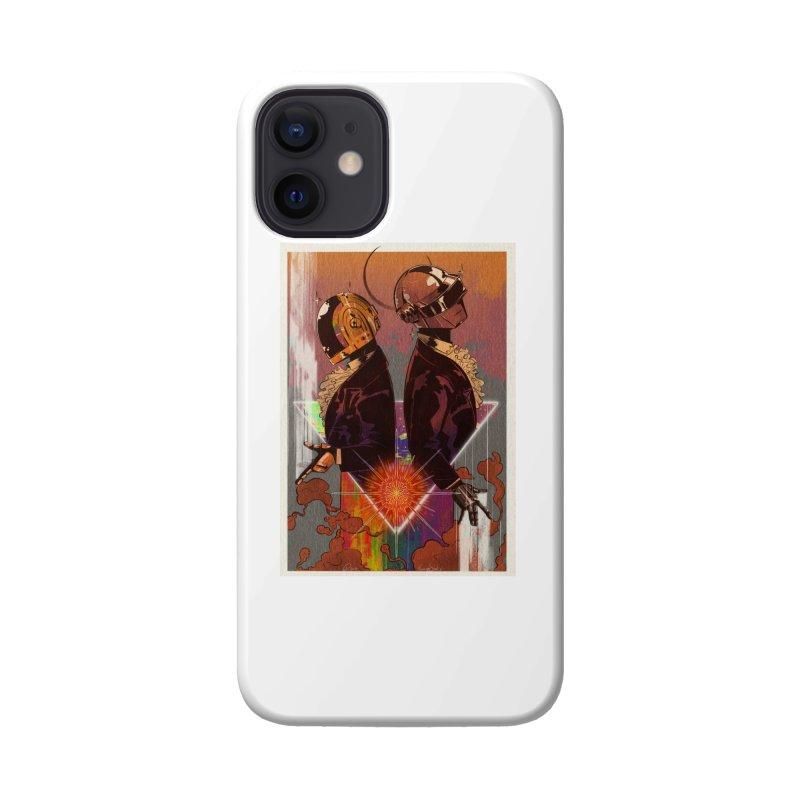 Daft Punk Accessories Phone Case by Raining-Static Art