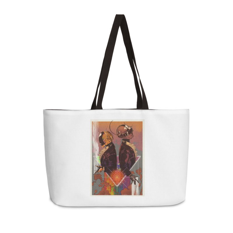 Daft Punk Accessories Bag by Raining-Static Art
