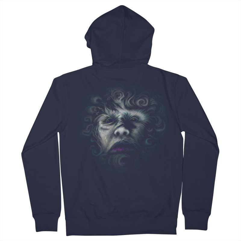 The Beast Men's Zip-Up Hoody by rainvelle01's Artist Shop