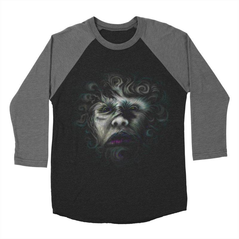 The Beast Women's Baseball Triblend T-Shirt by rainvelle01's Artist Shop