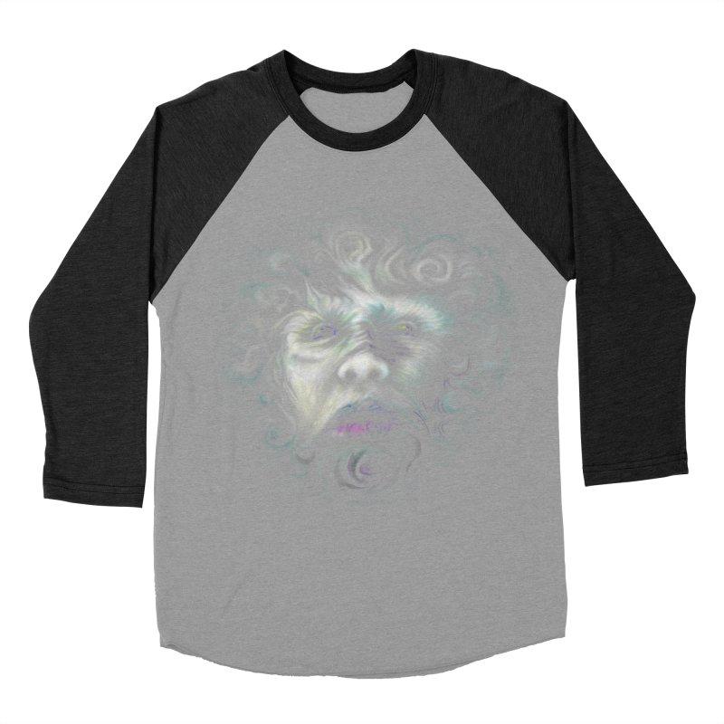 The Beast Men's Baseball Triblend T-Shirt by rainvelle01's Artist Shop