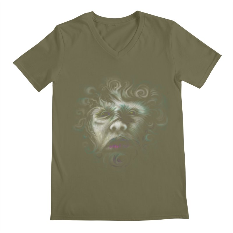 The Beast Men's V-Neck by rainvelle01's Artist Shop