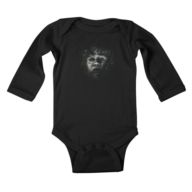 The Beast Kids Baby Longsleeve Bodysuit by rainvelle01's Artist Shop