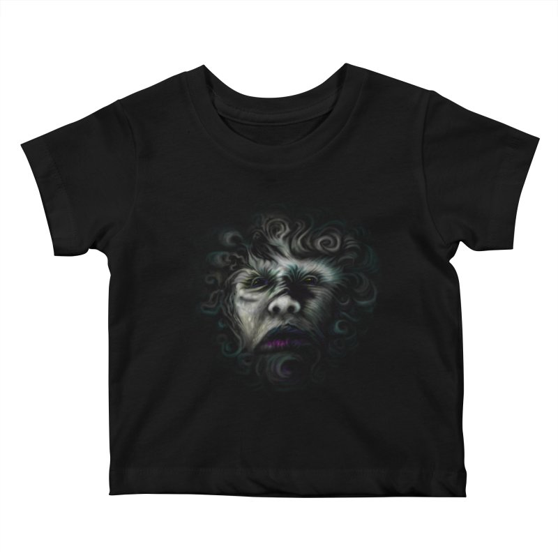 The Beast Kids Baby T-Shirt by rainvelle01's Artist Shop