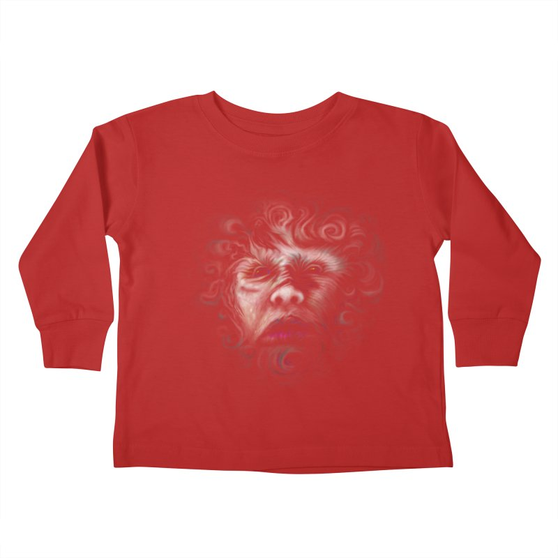 The Beast Kids Toddler Longsleeve T-Shirt by rainvelle01's Artist Shop