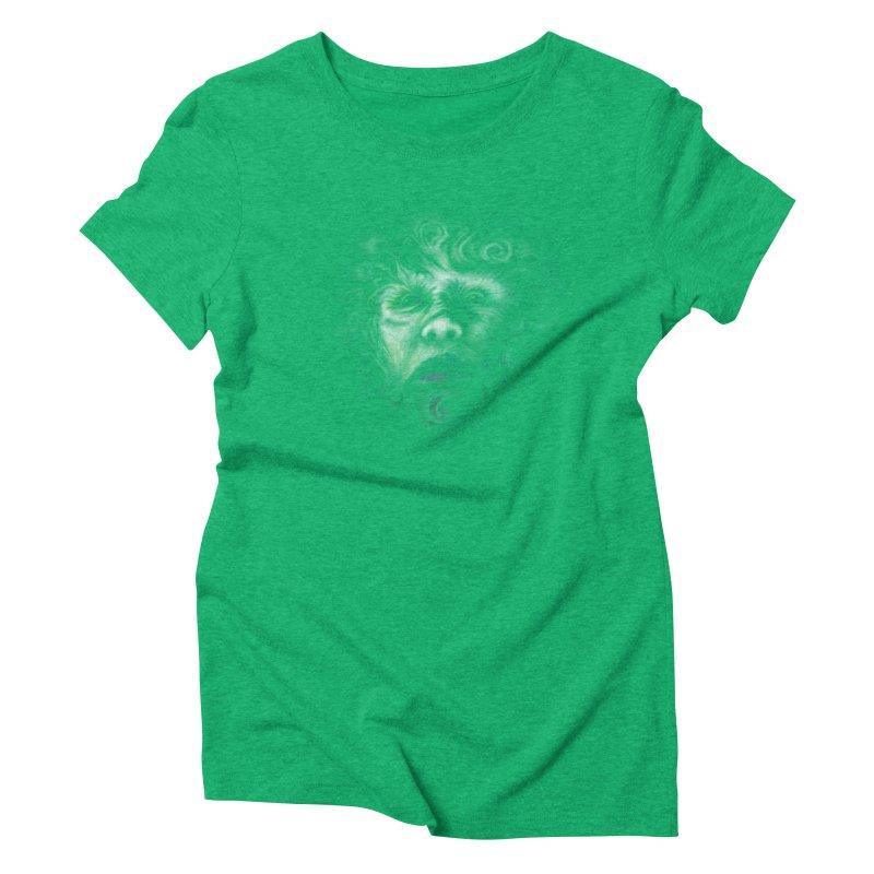 The Beast Women's Triblend T-Shirt by rainvelle01's Artist Shop