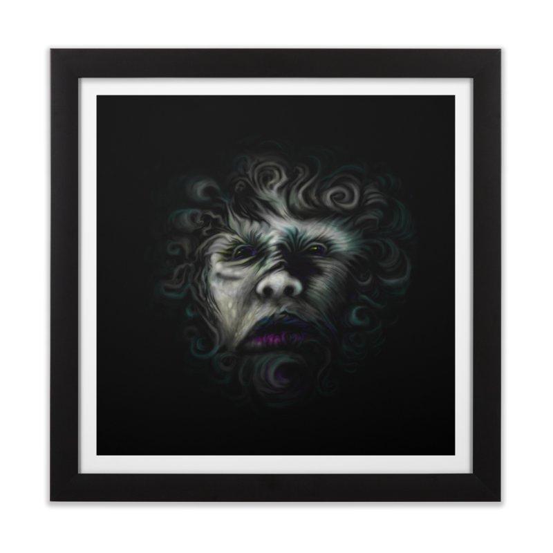 The Beast Home Framed Fine Art Print by rainvelle01's Artist Shop