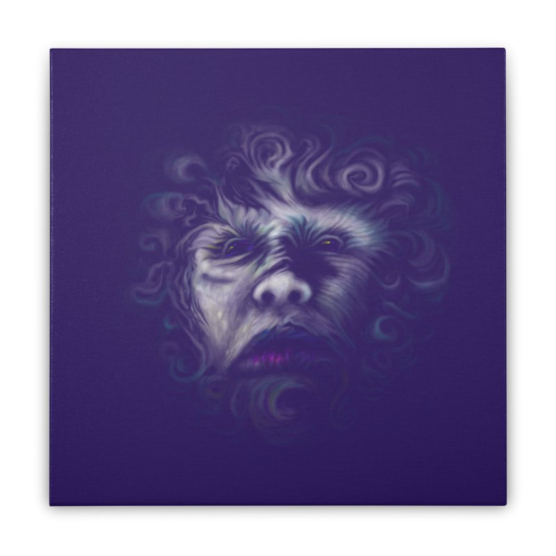 The Beast Home Stretched Canvas by rainvelle01's Artist Shop