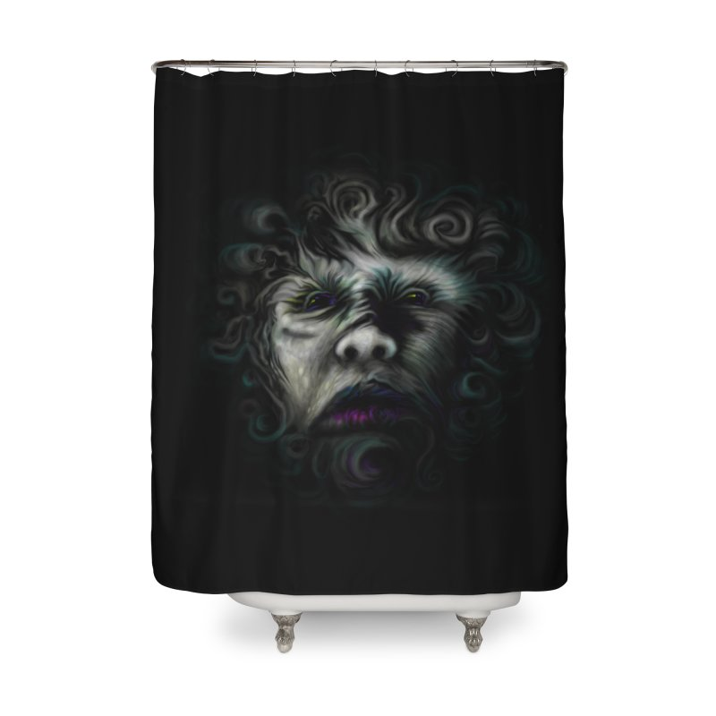 The Beast Home Shower Curtain by rainvelle01's Artist Shop