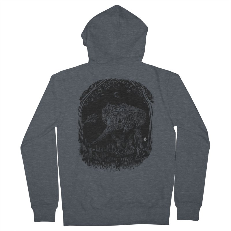 Night Stroller Men's Zip-Up Hoody by rainvelle01's Artist Shop