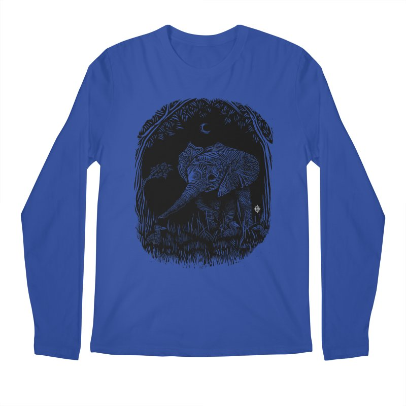 Night Stroller Men's Longsleeve T-Shirt by rainvelle01's Artist Shop