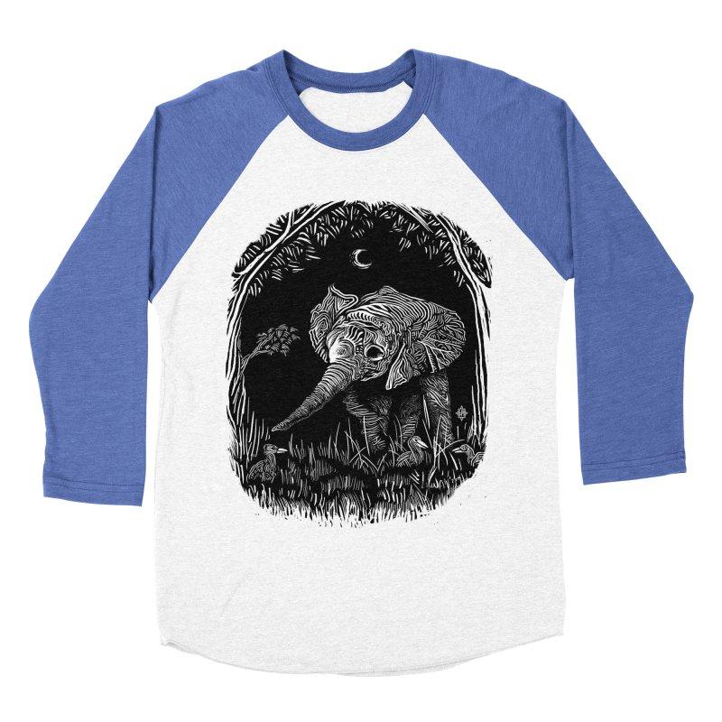 Night Stroller Women's Baseball Triblend T-Shirt by rainvelle01's Artist Shop