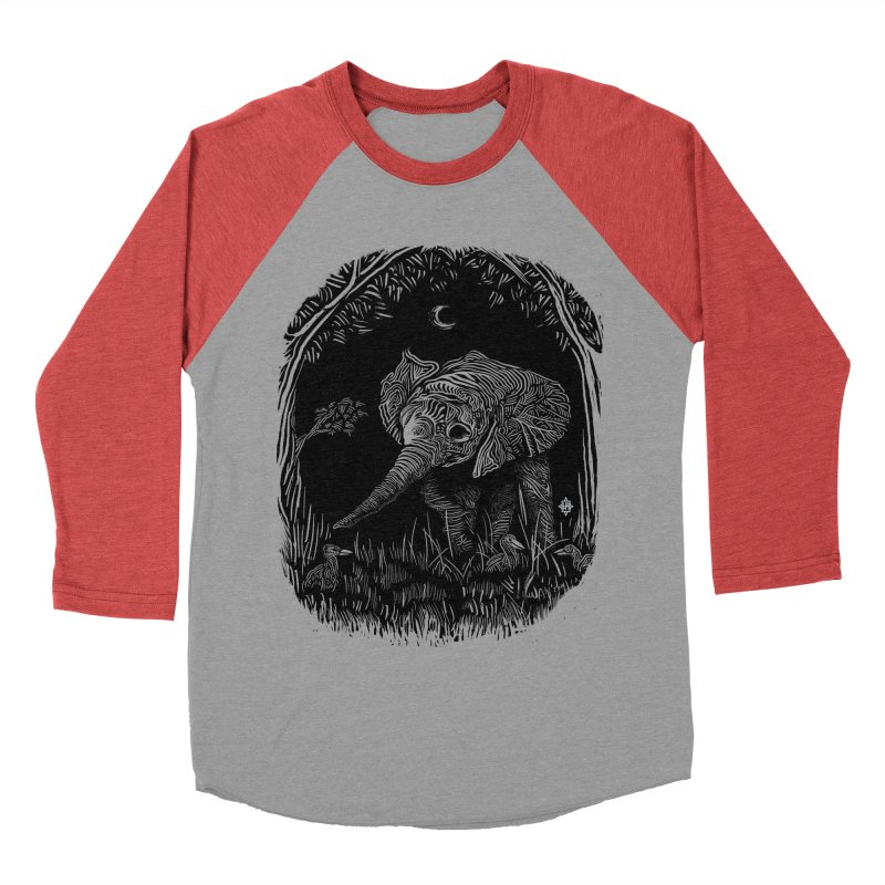 Night Stroller Men's Baseball Triblend T-Shirt by rainvelle01's Artist Shop