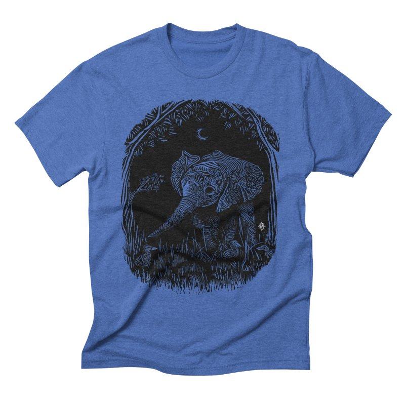 Night Stroller Men's Triblend T-shirt by rainvelle01's Artist Shop