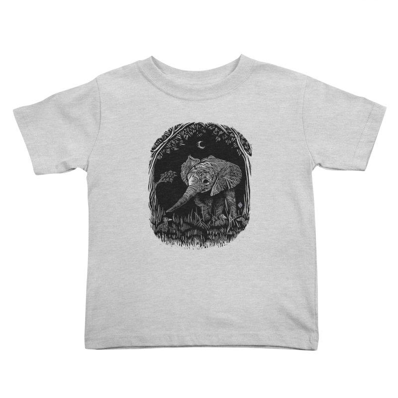 Night Stroller Kids Toddler T-Shirt by rainvelle01's Artist Shop