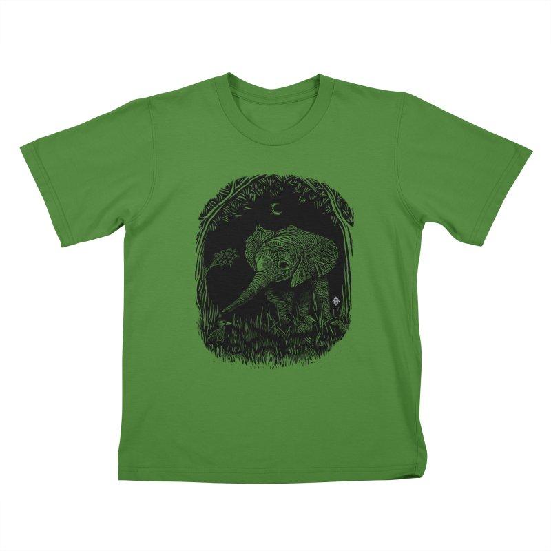 Night Stroller Kids T-Shirt by rainvelle01's Artist Shop