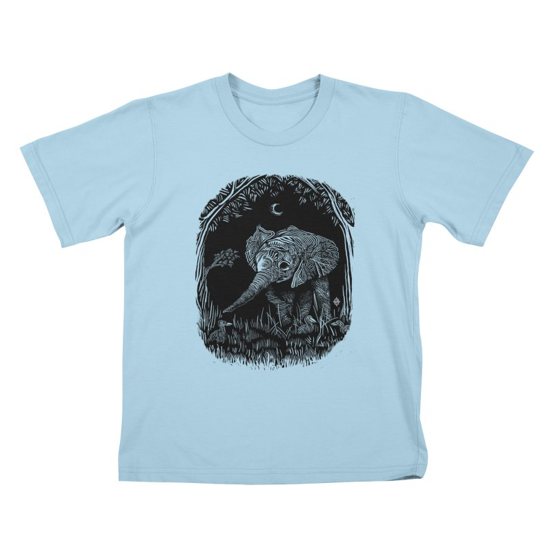 Night Stroller Kids T-shirt by rainvelle01's Artist Shop