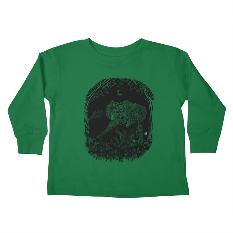 Night Stroller Kids Toddler Longsleeve T-Shirt by rainvelle01's Artist Shop