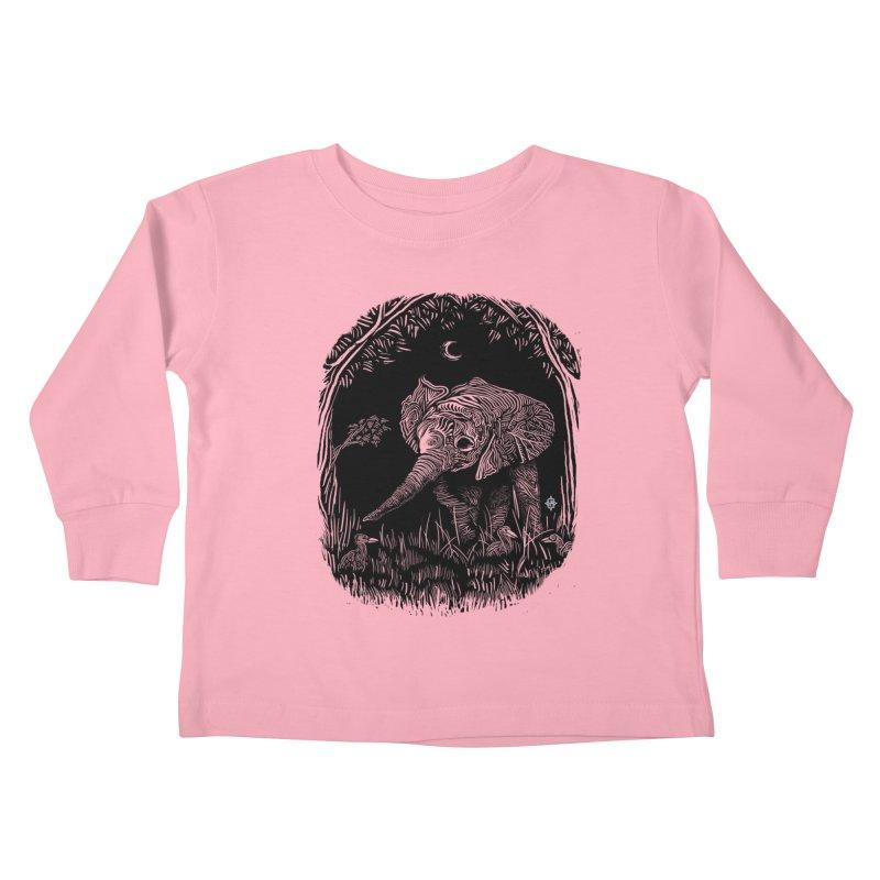 Night Stroller Kids Toddler Longsleeve T-Shirt by rainvelle01's Artist Shop