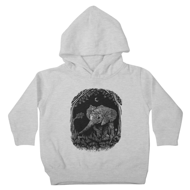 Night Stroller Kids Toddler Pullover Hoody by rainvelle01's Artist Shop