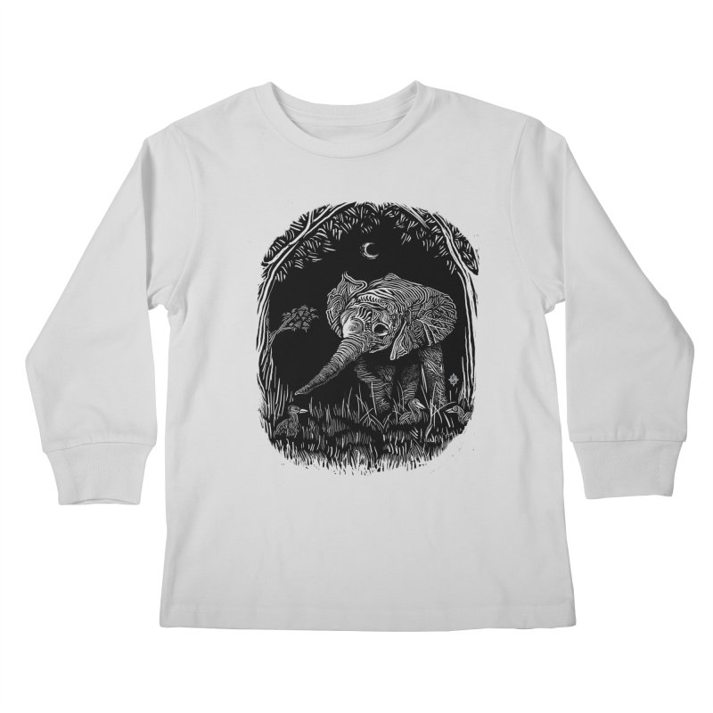 Night Stroller Kids Longsleeve T-Shirt by rainvelle01's Artist Shop