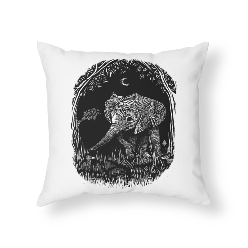 Night Stroller Home Throw Pillow by rainvelle01's Artist Shop