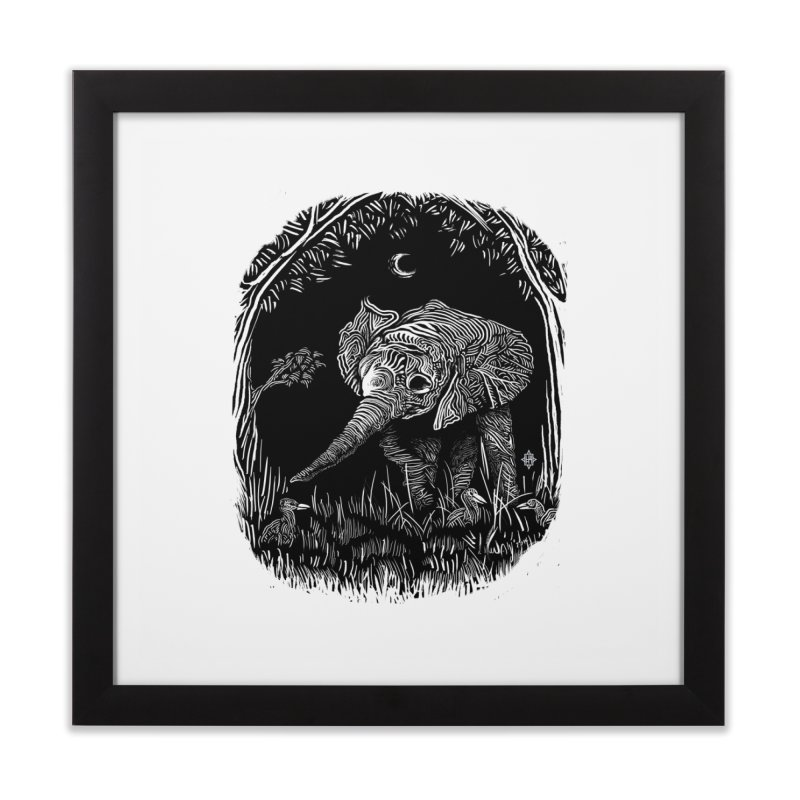 Night Stroller Home Framed Fine Art Print by rainvelle01's Artist Shop