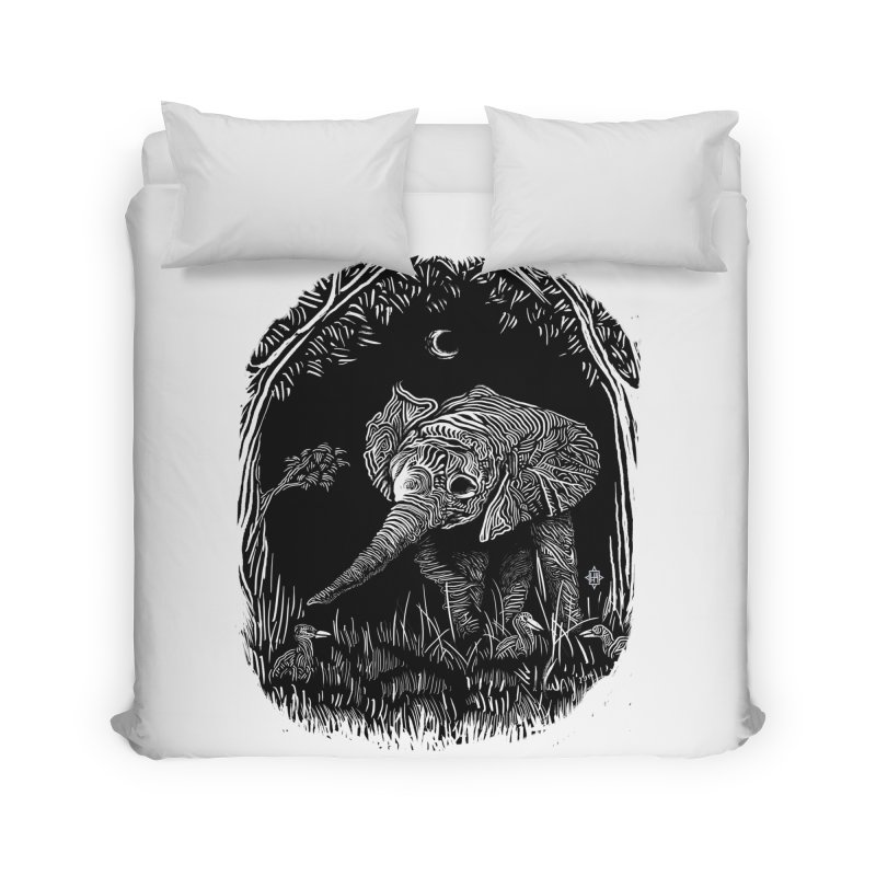 Night Stroller Home Duvet by rainvelle01's Artist Shop