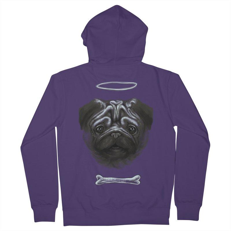 A Pug's Life Women's Zip-Up Hoody by rainvelle01's Artist Shop