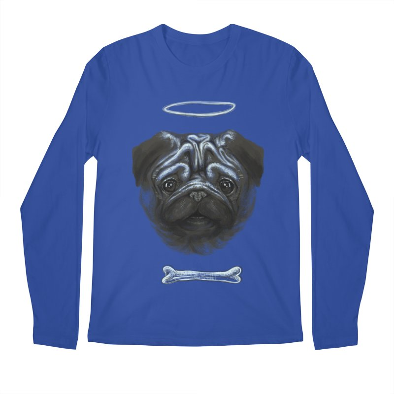 A Pug's Life Men's Longsleeve T-Shirt by rainvelle01's Artist Shop