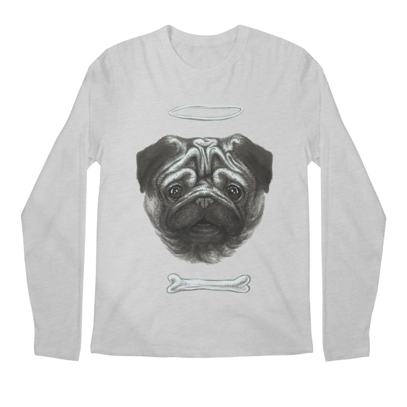 A Pug's Life Men's Longsleeve T-Shirt by rainvelle01's Artist Shop
