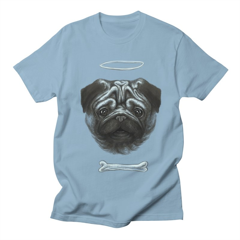 A Pug's Life Women's Unisex T-Shirt by rainvelle01's Artist Shop