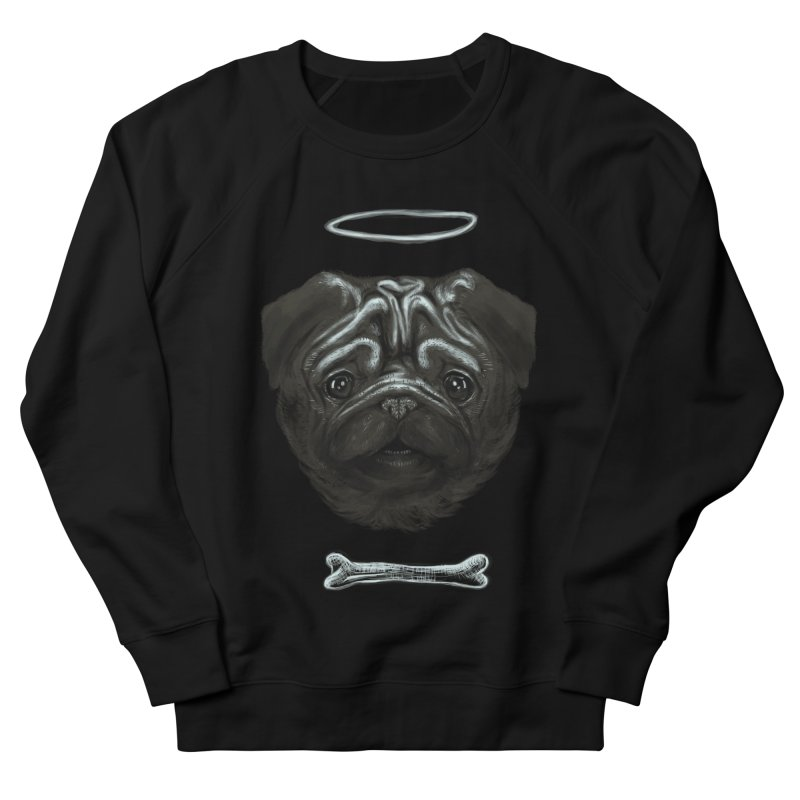 A Pug's Life Women's Sweatshirt by rainvelle01's Artist Shop