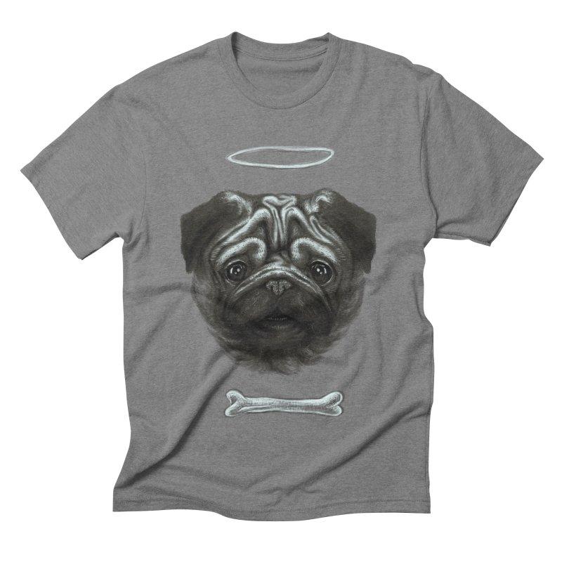 A Pug's Life Men's Triblend T-Shirt by rainvelle01's Artist Shop