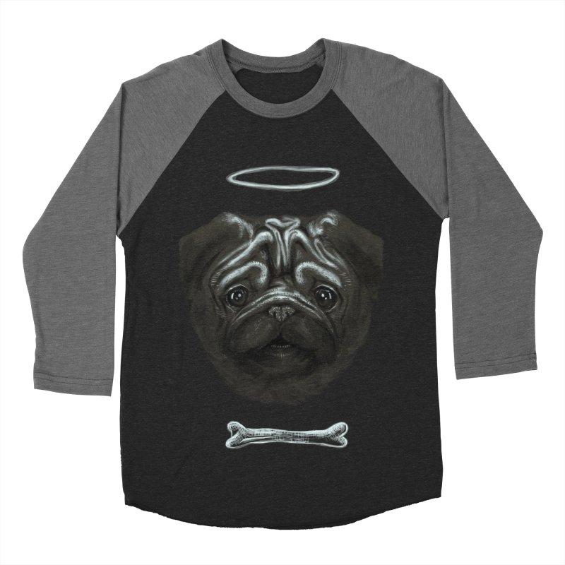 A Pug's Life Women's Baseball Triblend T-Shirt by rainvelle01's Artist Shop