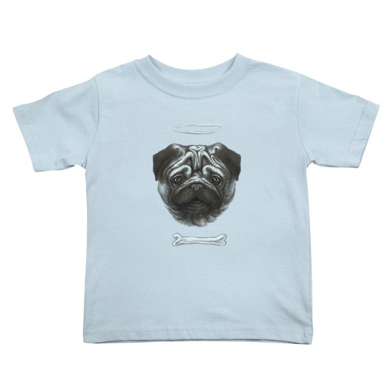 A Pug's Life Kids Toddler T-Shirt by rainvelle01's Artist Shop