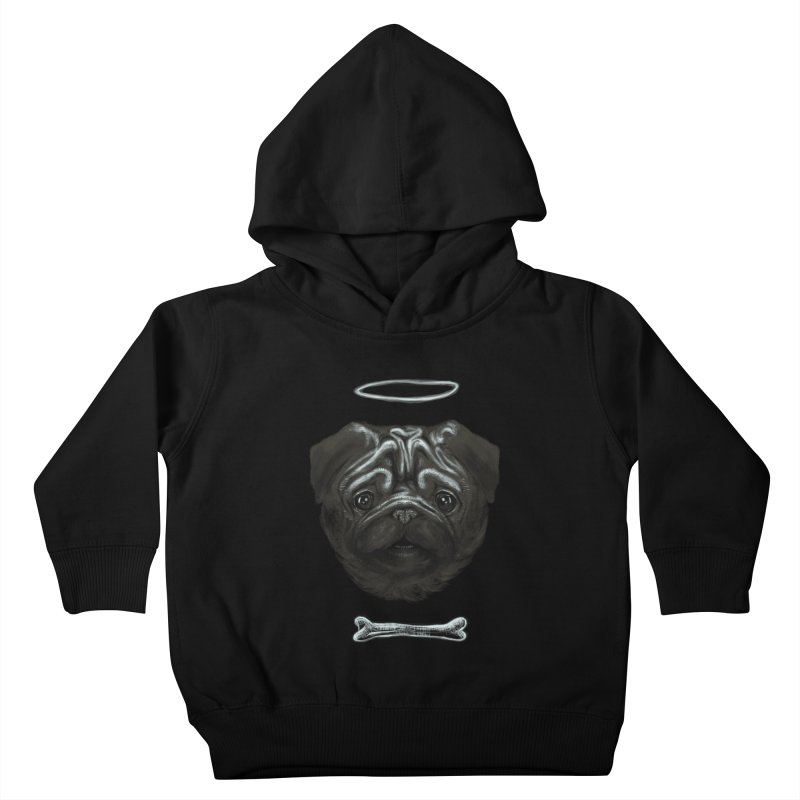 A Pug's Life Kids Toddler Pullover Hoody by rainvelle01's Artist Shop