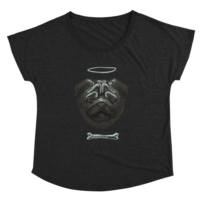 A Pug's Life Women's Dolman by rainvelle01's Artist Shop