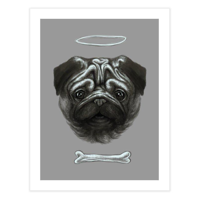 A Pug's Life Home Fine Art Print by rainvelle01's Artist Shop