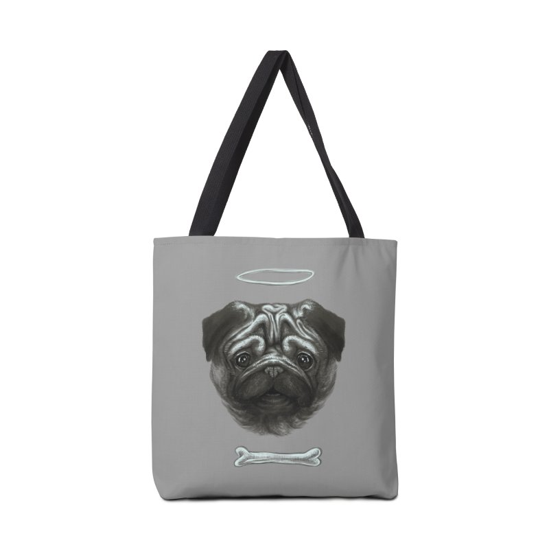 A Pug's Life Accessories Bag by rainvelle01's Artist Shop