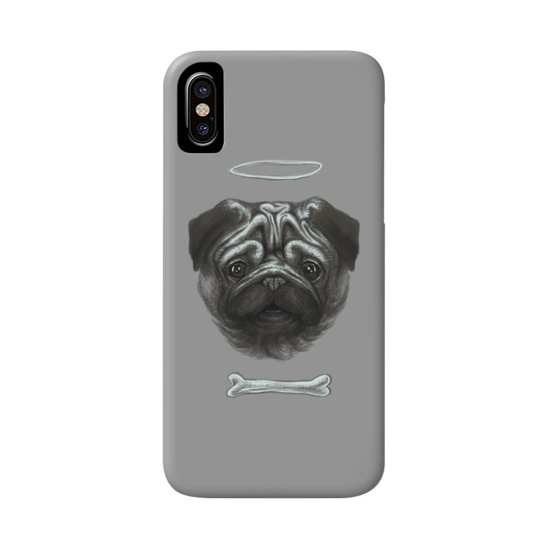 A Pug's Life Accessories Phone Case by rainvelle01's Artist Shop