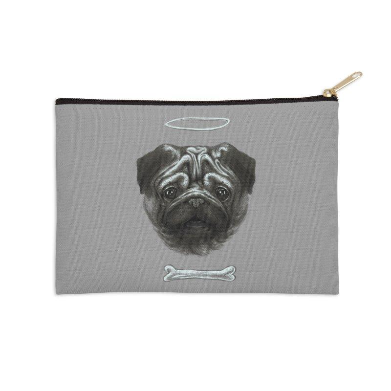 A Pug's Life Accessories Zip Pouch by rainvelle01's Artist Shop