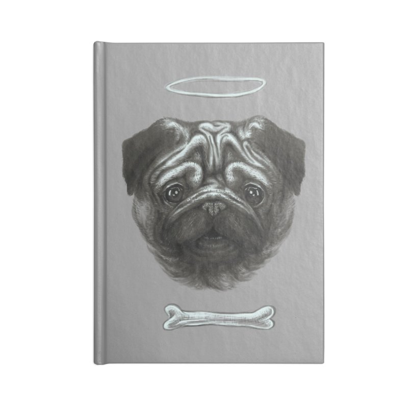 A Pug's Life Accessories Notebook by rainvelle01's Artist Shop